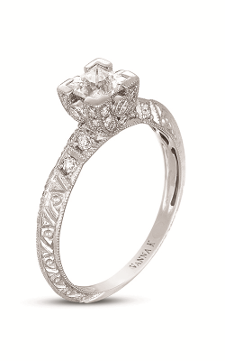 Vanna K Hand Engraved Engagement ring 18RGL468DCZ product image