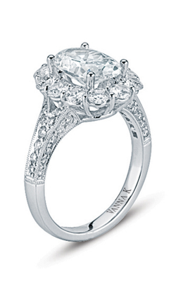 Vanna K Kamara Engagement ring 18RO2143DCZ product image