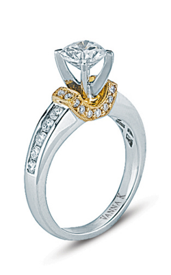 Vanna K Kamara Engagement ring 18RM32760DCZ product image
