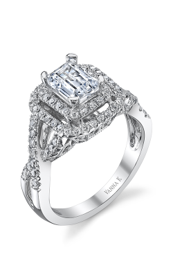 Vanna K Solea Engagement ring 18RGL00737DCZ product image