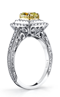 Vanna K Soleamore Engagement ring 18RGL33DY product image