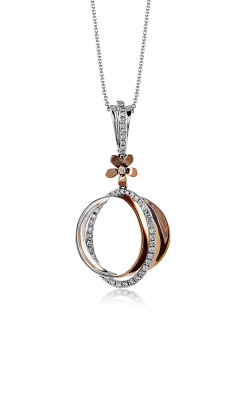 Zeghani Nature Lover Necklace ZP680 product image