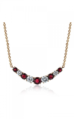 Zeghani Classic Beauty Necklace ZP953-R product image