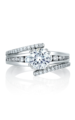 A.Jaffe Channel Set Engagement Ring MES272-63 product image