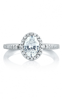 A.Jaffe Fancy Center Engagement Ring MES185-26 product image
