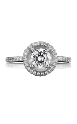 A.Jaffe Halo Engagement Ring MES325-136 product image