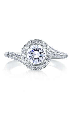 A.Jaffe Halo Engagement Ring MES322-125 product image