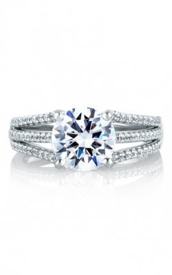 A.Jaffe Large Center Engagement Ring MES300-48 product image