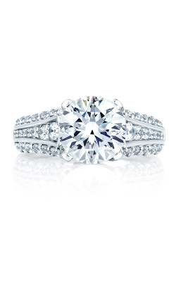 A.Jaffe Large Center Engagement Ring MES267-160 product image