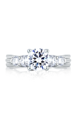 A.Jaffe Large Center Engagement Ring MES030-110 product image