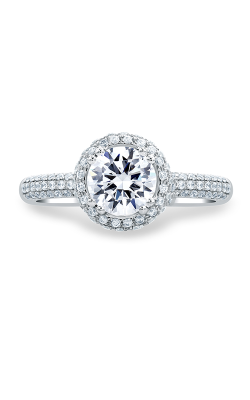 A.Jaffe Halo Engagement Ring MES674-152 product image