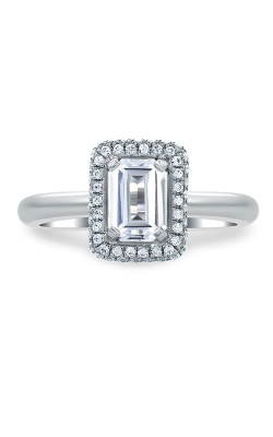 A.Jaffe Halo Engagement Ring MES673-134 product image