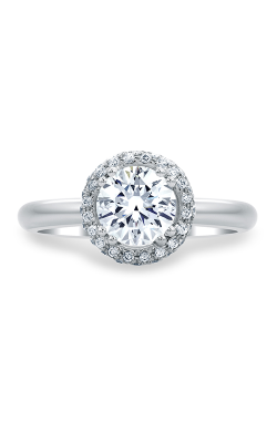 A.Jaffe Halo Engagement Ring MES672-130 product image