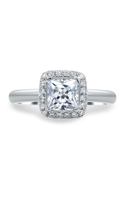 A.Jaffe Halo Engagement Ring MES671-128 product image