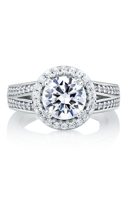 A.Jaffe Halo Engagement Ring MES587-248 product image