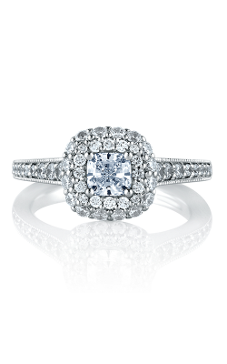 A.Jaffe Halo Engagement Ring MES572-112 product image