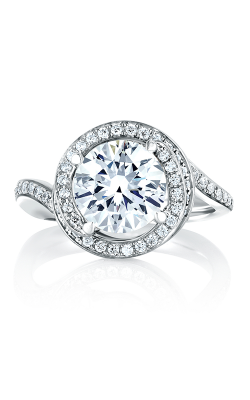 A.Jaffe Halo Engagement Ring MES433-92 product image
