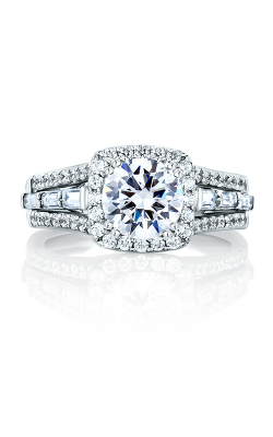 A.Jaffe Halo Engagement Ring MES279-249 product image
