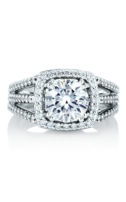 A.Jaffe Halo Engagement Ring MES256-60A product image