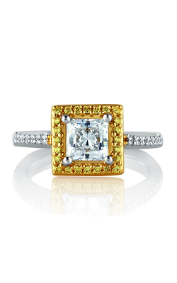 A.Jaffe Halo Engagement Ring MES599-128 product image