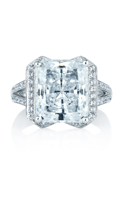 A. Jaffe Art Deco Engagement ring MES403-135 product image