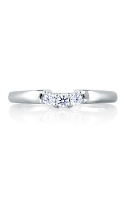 A. Jaffe Art Deco Wedding band MRS237-25 product image