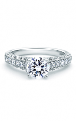 A. Jaffe Art Deco Engagement Ring ME1664 product image