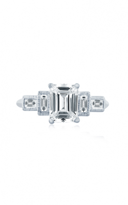 A. Jaffe Art Deco Engagement Ring ME2110Q-171 product image