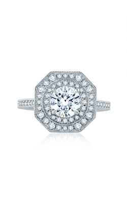 A. Jaffe Art Deco Engagement Ring ME2183Q-144 product image
