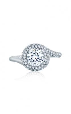 A. Jaffe Seasons Of Love - 18k White Gold 0.42ctw Diamond Engagement Ring, ME2139Q product image