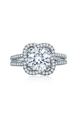 A. Jaffe Seasons Of Love - 18k White Gold 0.48ctw Diamond Engagement Ring, MES855 product image