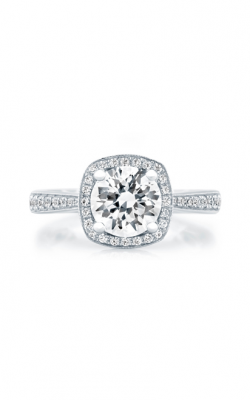 A. Jaffe Seasons Of Love - 18k White Gold 0.39ctw Diamond Engagement Ring, ME2052Q product image