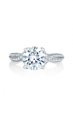 A. Jaffe Seasons Of Love - 18k White Gold 0.31ctw Diamond Engagement Ring, MES741Q product image