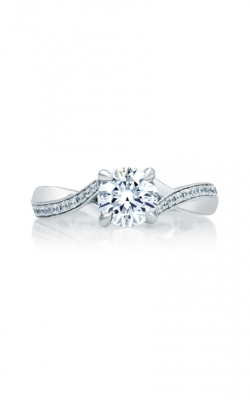 A. Jaffe Seasons Of Love - 18k White Gold 0.14ctw Diamond Engagement Ring, ME2038Q product image