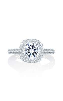 A. Jaffe Seasons Of Love - 18k White Gold 0.54ctw Diamond Engagement Ring, MES748Q product image