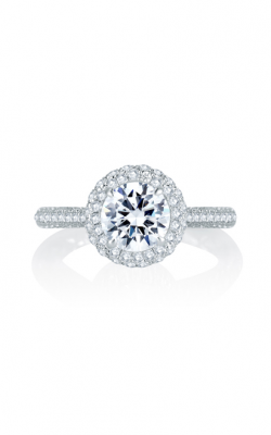 A. Jaffe Seasons Of Love - 18k White Gold 0.55ctw Diamond Engagement Ring, MES749Q product image