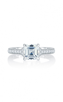 A. Jaffe Seasons Of Love - 18k White Gold 0.26ctw Diamond Engagement Ring, MES753Q product image