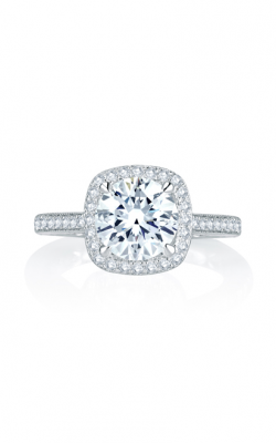 A. Jaffe Seasons Of Love - 18k White Gold 0.41ctw Diamond Engagement Ring, MES754Q product image