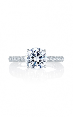 A. Jaffe Seasons Of Love - 18k White Gold 0.26ctw Diamond Engagement Ring, MES755Q product image