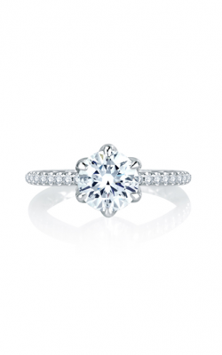 A. Jaffe Seasons Of Love - 18k White Gold 0.33ctw Diamond Engagement Ring, MES767Q product image