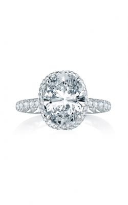 A. Jaffe Seasons Of Love - 18k White Gold 0.45ctw Diamond Engagement Ring, MES768Q product image