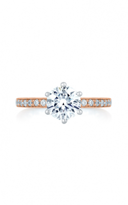 A. Jaffe Seasons Of Love - 18k Rose Gold 0.16ctw Diamond Engagement Ring, MES775Q product image