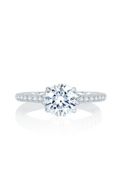 A. Jaffe Seasons Of Love - 18k White Gold 0.28ctw Diamond Engagement Ring, MES742Q product image