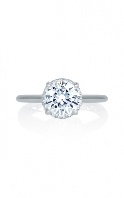A. Jaffe Seasons Of Love - 18k White Gold 0.14ctw Diamond Engagement Ring, MES746Q product image
