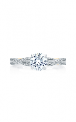 A. Jaffe Seasons Of Love - 18k White Gold 0.21ctw Diamond Engagement Ring, ME2031Q product image