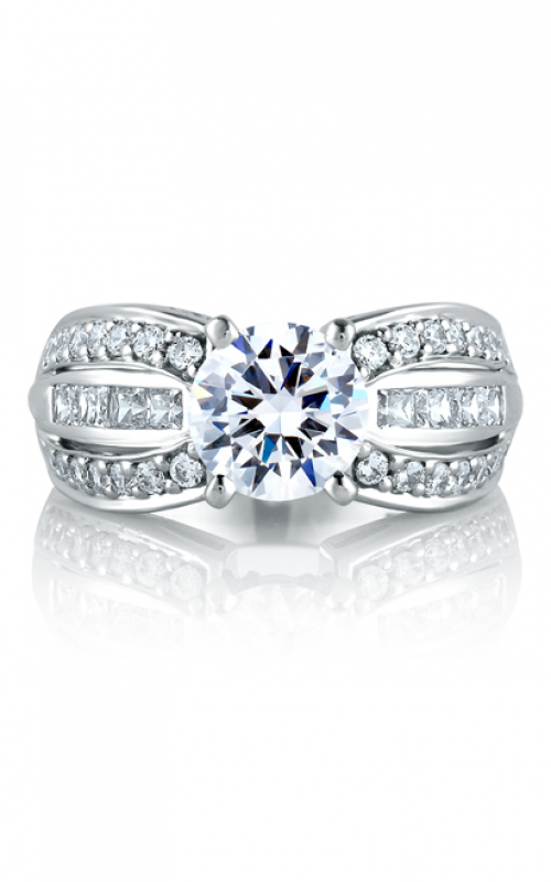A. Jaffe Art Deco Engagement ring MES045-88 product image