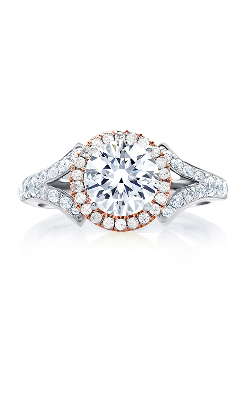A. Jaffe Art Deco Engagement ring MES636-174 product image
