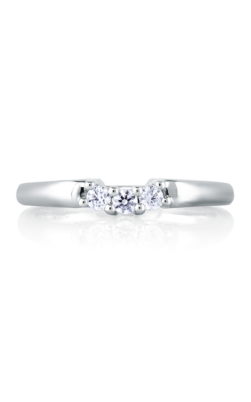 A. Jaffe Art Deco Wedding band MRS237-25 product image