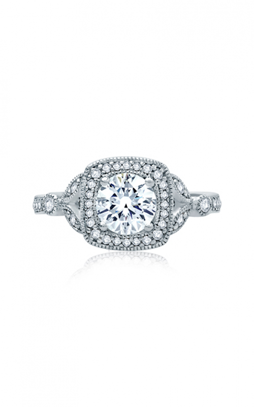 A. Jaffe Art Deco Engagement ring ME2106Q-124 product image