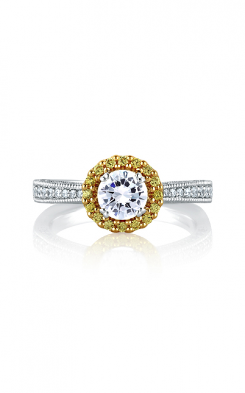 A. Jaffe Art Deco Engagement ring MES600B product image